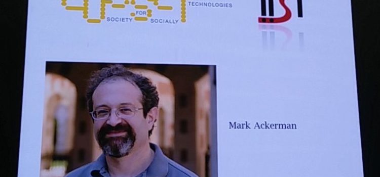 2017 EUSSET-IISI Lifetime Achievement Award to Mark Ackermann