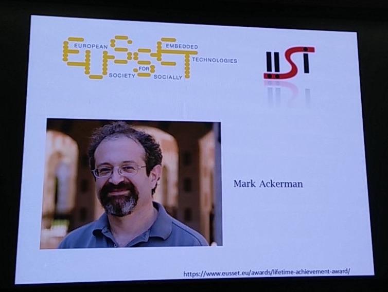 EUSSET-IISI Lifetime Achievement Award