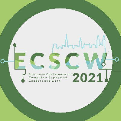 ECSCW 2021: Extended Deadlines for various formats